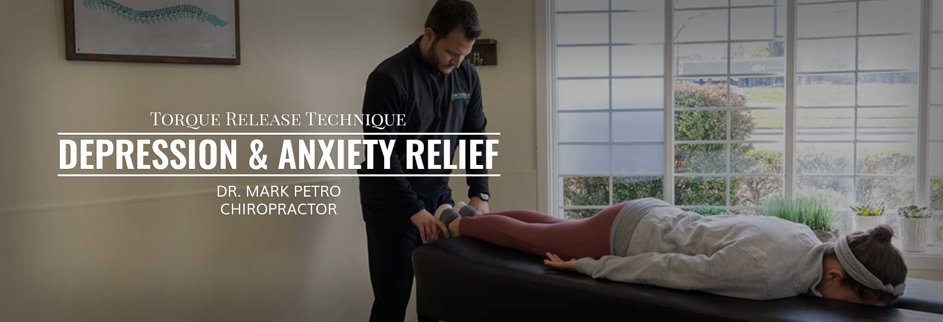 Depression and anxiety relief – TRT Chiropractor